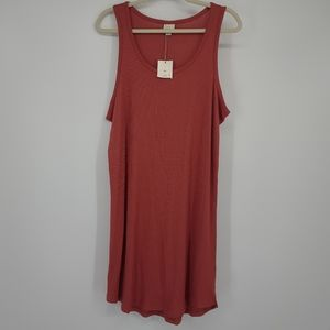 4/$25 A New Day Ribbed Tank Top Casual Dress